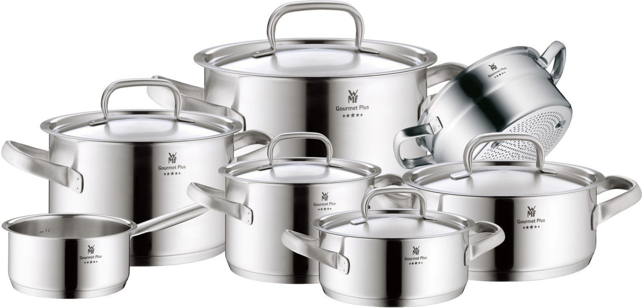 Набір каструль WMF Gourmet Plus з 7 предметів 07.2007.6030