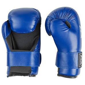 Перчатки для единоборств синие Everlast KungFu, ММА,Flex, размер S, фото 2