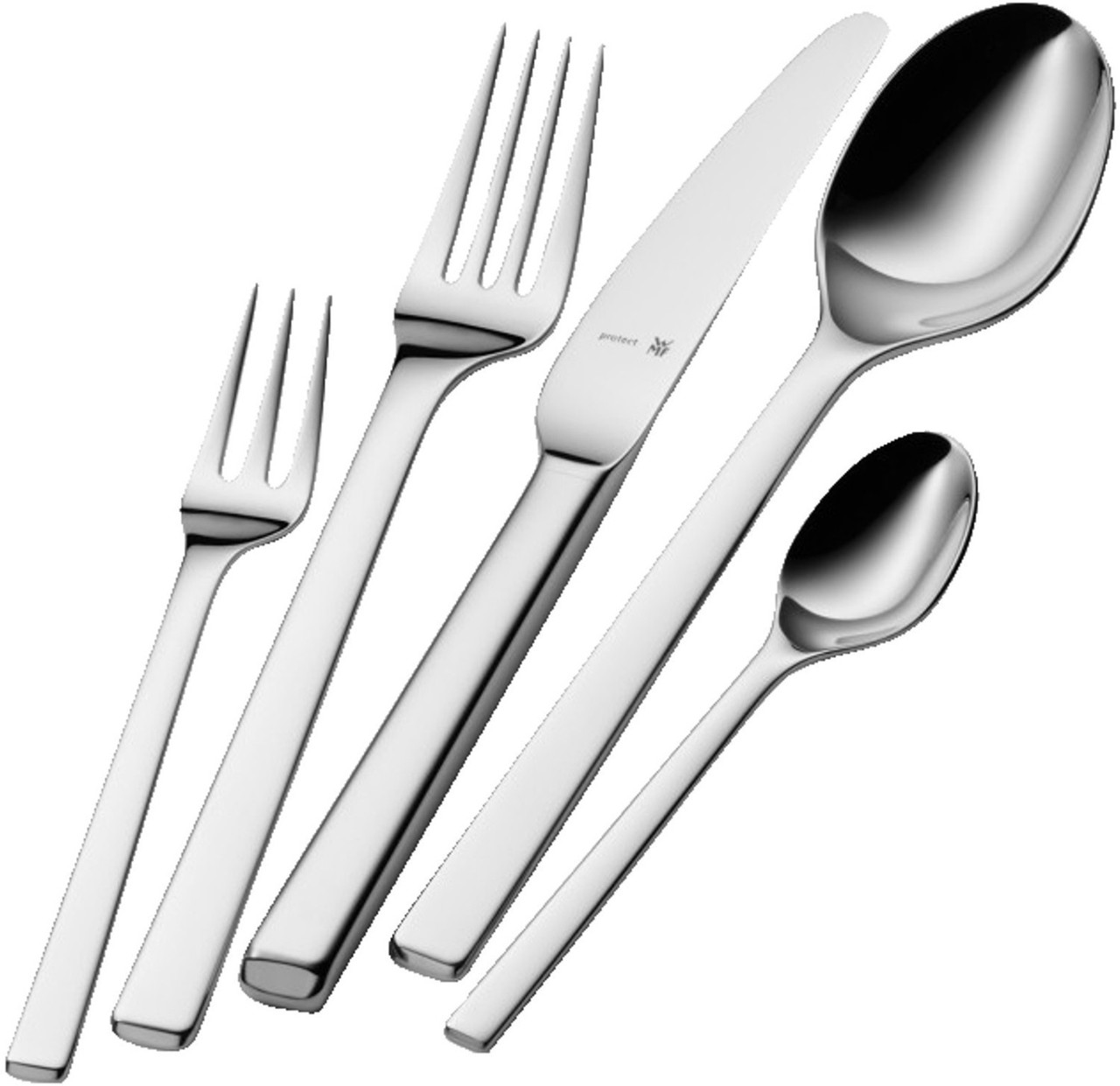 Набор столовых приборов WMF Stratic 30 шт. Cromargan protect нержавеющая сталь 18/10.