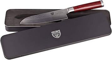 Нож из дамасской стали Gräwe, лезвие 17,5 см, в подарочной коробке