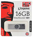 Флеш память USB Kingston DT101 G2 16GB Black (3983), фото 3