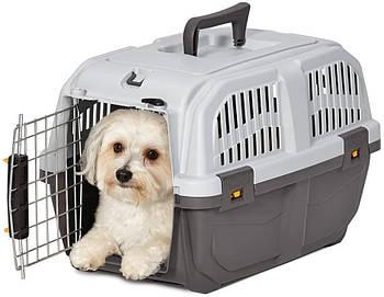 Переноска для собак 48*31,5*31 MPS SKUDO 1 IATA GREY №1