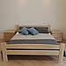 Ліжко дерев'яне двоспальне Каспер (масив бука), фото 2