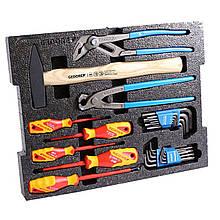 Набор ручного инструмента Gedore 26 предметов без L-BOXX (1600A012ZY-Basic26)