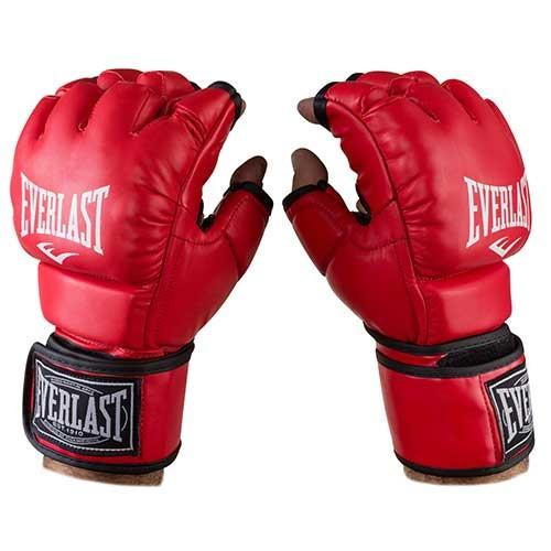 Перчатки единоборств красные Everlast MMA, DX364, размер XL