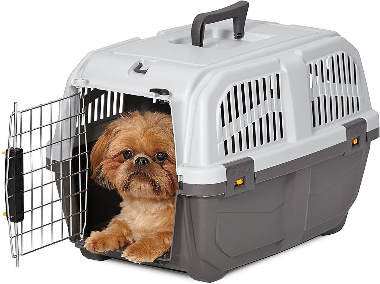 Переноска для собак 55*36*35 см MPS SKUDO 2 IATA GREY №2
