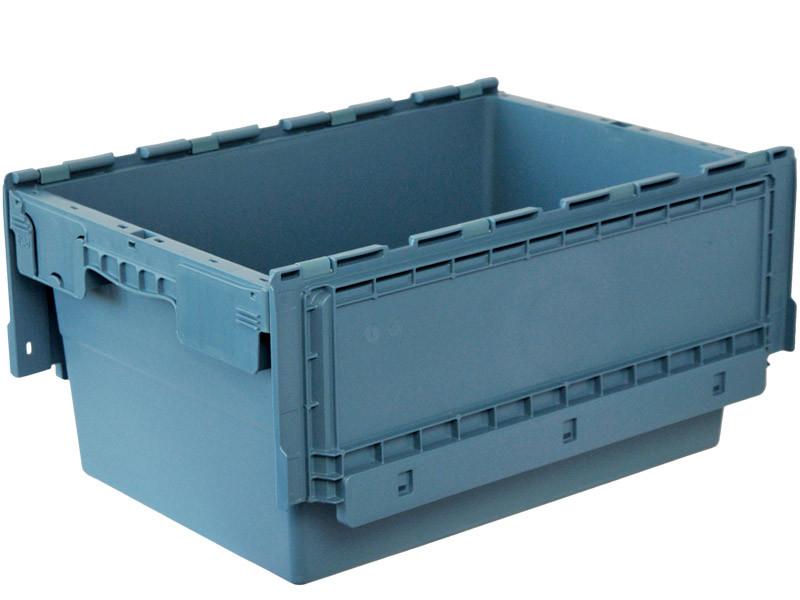 Пластиковый ящик с крышкой ALC 600х400х280 мм