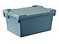 Пластиковый ящик с крышкой ALC 600х400х280 мм, фото 2