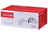 УФ лампа для гель-лаку Sun 9S 24W для полімеризації (4373), фото 10