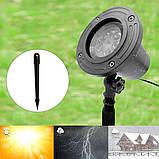 Лазерний проектор Star Shower WL-602 (різнокольорові сніжинки) (6739), фото 5
