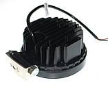 Светодиодная фара 42W. LED (лэд) фара 12В и 24В. Корпус МЕТАЛЛ. Диоды EPISTAR, OSRAM, CREE., фото 2