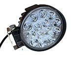Светодиодная фара 42W. LED (лэд) фара 12В и 24В. Корпус МЕТАЛЛ. Диоды EPISTAR, OSRAM, CREE., фото 4