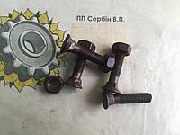 Болт з гайкою кріплення лапи культиватора М10