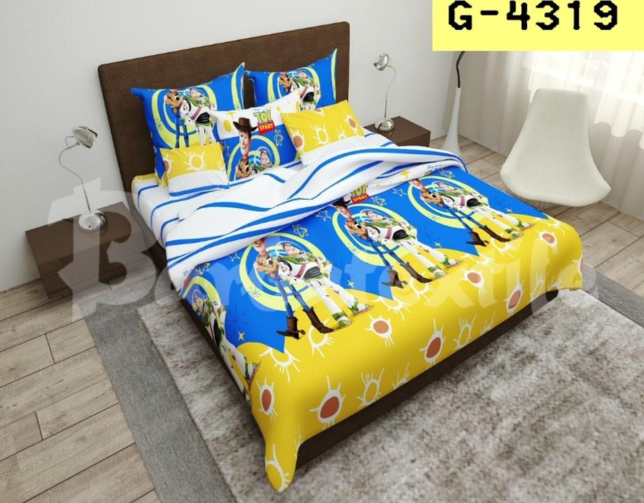 Комплект постельного белья подростковый  полуторный История игрушек 2