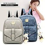 Женская сумочка и рюкзак в наборе, фото 2