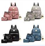 Женская сумочка и рюкзак в наборе, фото 3