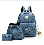 Женская сумочка и рюкзак в наборе, фото 4
