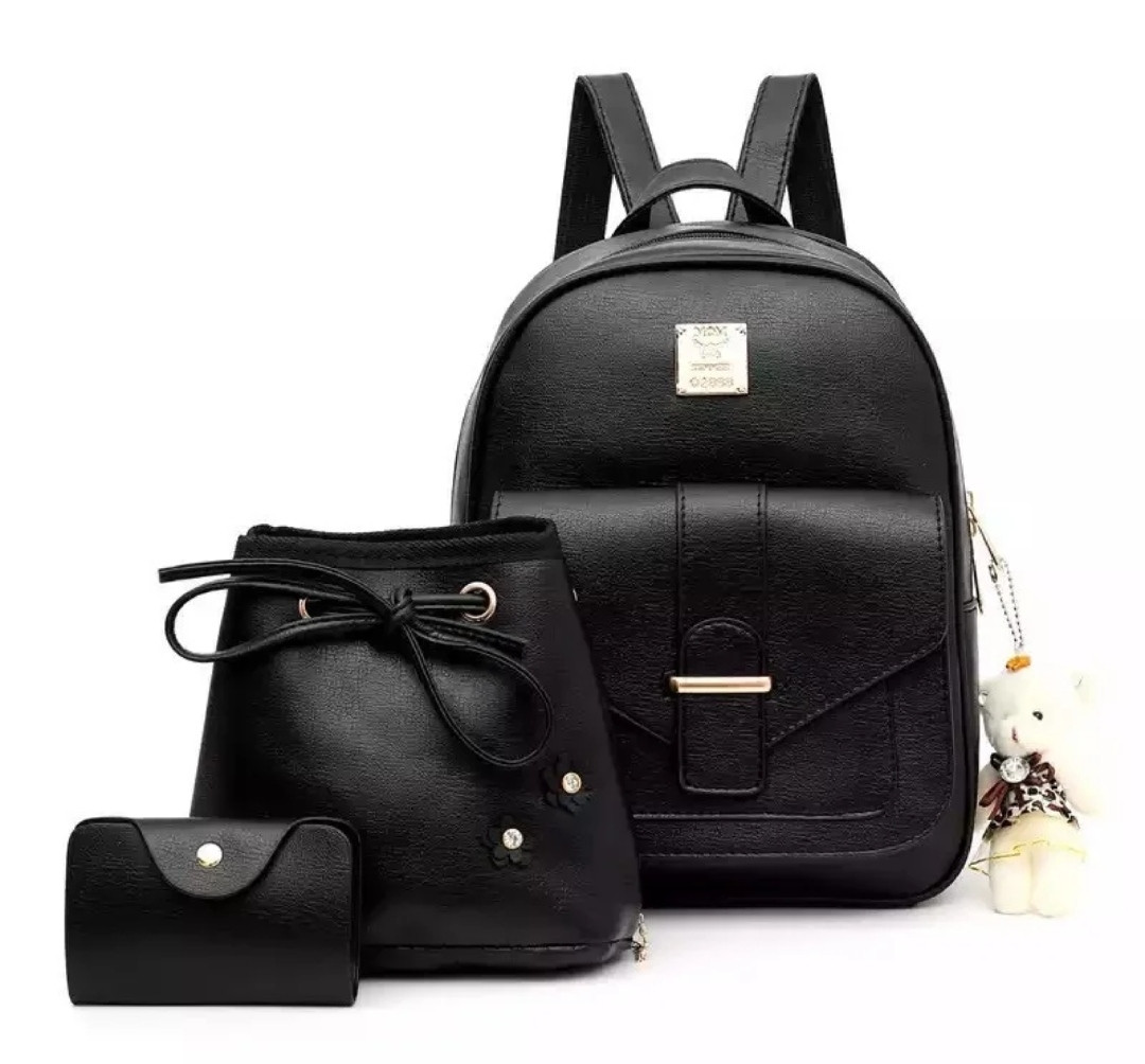 Женская сумочка и рюкзак в наборе