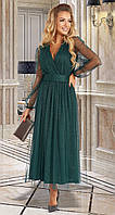 Вечернее женское сияющее платье (2 цвета)