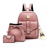 Женская сумочка и рюкзак в наборе, фото 5