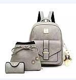 Женская сумочка и рюкзак в наборе, фото 6