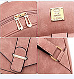 Женская сумочка и рюкзак в наборе, фото 9