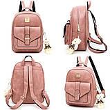 Женская сумочка и рюкзак в наборе, фото 10