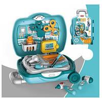Детский набор доктора стоматолог в чемодане на колесах Metr+ 8G808