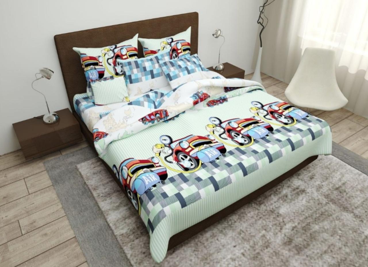 Комплект постельного белья подростковый  полуторный Компрессор