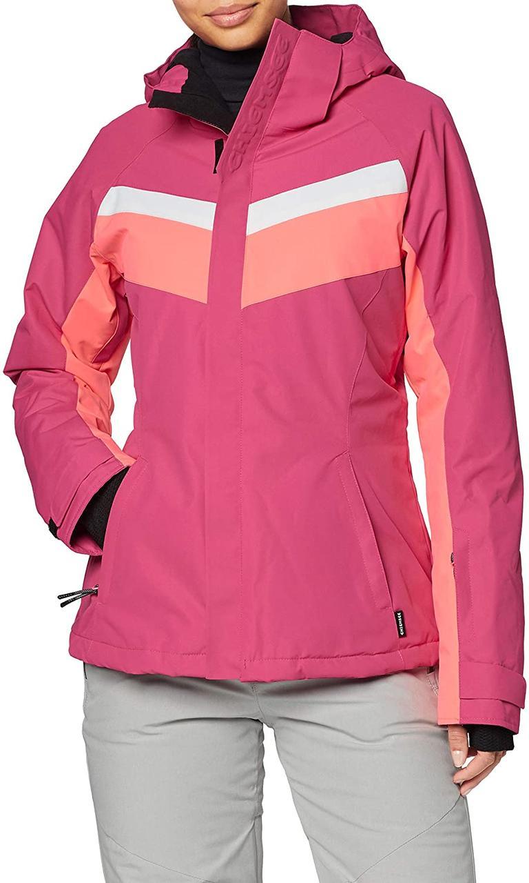 Жіноча гірськолижна куртка Chiemsee Magenta | р. XS розова