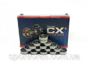 Підшипники для роликових ковзанів 16шт.(CX 608-2RSABEC)