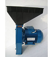 Кормоизмельчитель зернодробилка Эликор-1 исполнение-2 для измельчения зерна (измельчитель кормов корморезка)