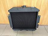 Радиатор охлаждения медный ГАЗ 2410, РАФ (2-х рядный), фото 2