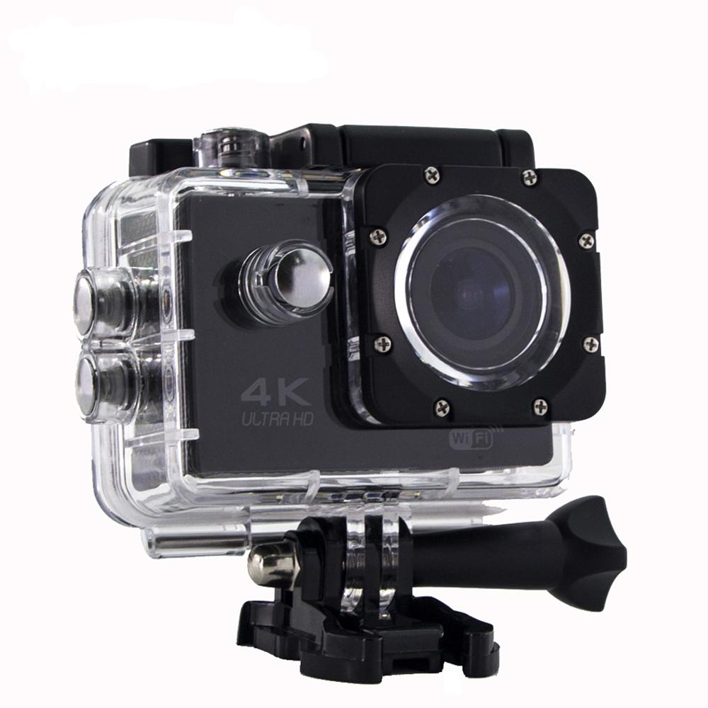 Водонепроникна спортивна екшн камера Delta H16-6 4K Wi Fi Black
