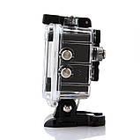Водонепроникна спортивна екшн камера Delta H16-6 4K Wi Fi Black, фото 2