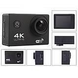 Водонепроникна спортивна екшн камера Delta H16-6 4K Wi Fi Black, фото 3