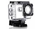 Водонепроникна спортивна екшн камера Delta H16-6 4K Wi Fi Black, фото 5