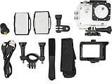 Водонепроникна спортивна екшн камера Delta H16-6 4K Wi Fi Black, фото 6