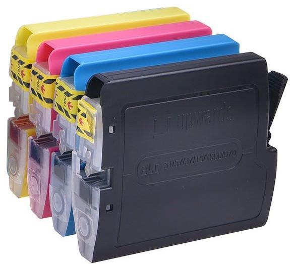 Набор картриджей Brother LC1000/LC970 (черный, пурпурный, желтый, голубой) 310720