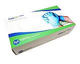Перчатки нитриловые Care365 стандарт M 100 шт Голубые (365M), фото 2