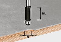 Пригоночная фреза с нижним опорным подшипником HW S8 D12,7/NL25 хвостовик 8 мм Festool 491027, фото 1