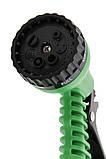 Шланг для поливу X HOSE 60 м з розпилювачем (швидкознімна кріплення) Green, фото 3