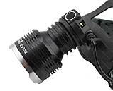 Налобный фонарик Police BL- T619 (2 зарядных, 2 аккумулятора), фото 7