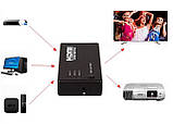 HDMI-переключатель Dellta SY-301 на 3 портов HDMI switch с пультом ДУ (3656), фото 3