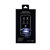 Захисне скло Apple iPhone SE 2020 6D прозоре (чорне) Grand-X