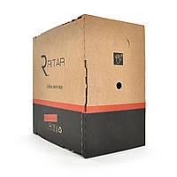 Кабель RITAR КПП-ВП 4*2*0,50 (UTP-cat.5E.), СU, оболонка ПЕ, для нар. робіт, 305 м.