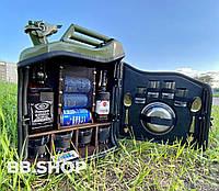 Канистра-бар 20л . Канистра мини бар с подсветкой на пульте управления