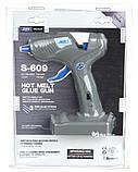 Клеевой пистолет для силиконового клея JDER 2 в 1 S-609 Grey (5456), фото 3