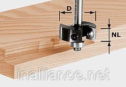 Фальцевая фреза для выборки четверти со сменными ножами HW S8 D38/12 хвостовик 8 мм Festool 491085