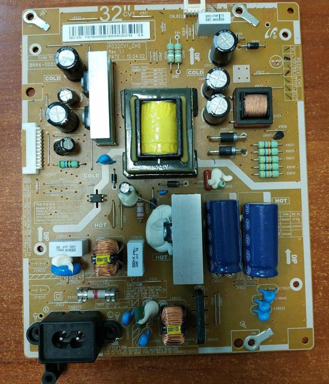 Блок питания BN44-00551B, PD32CV1_CHS для Samsung UE32EH6037